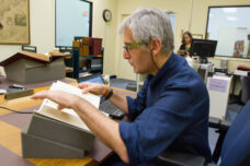 Rare books are researched and restored at the Clements Library.