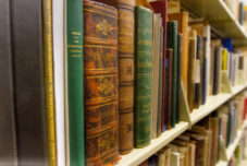 A rare book collection at the Clements Library.