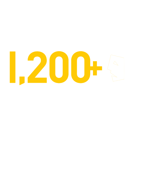 1,200+ exhibitions and performances annually